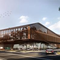 Архитектурное бюро «Мезонпроект». Проект многофункционального торгово-развлекательный комплекса в посёлке Барвиха