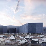 Ginzburg Architects, Dmitry Velikovsky Studio.  Комплекс (станция) временного пребывания, расположенная в   экстремальных условиях