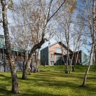 ООО «Гикало Купцов Архитекторы». VILLA E. Загородный жилой дом на Камчатке