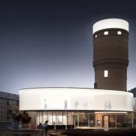Реконструкция водонапорной башни в Щербинке. IND architects