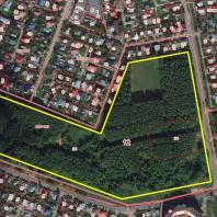 Парк «Тарханово», Йошкар-Ола. Границы территории проектирования на публичной кадастровой карте