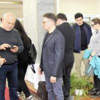 Международный конкурс эскизных концепций благоустройства парка «Тарханово», Йошкар-Ола. Фото с церемонии награждения. 15.04.2021